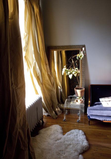 SoHo Loft eclectic-bedroom