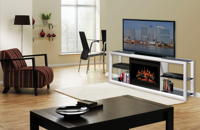 Electric Fireplace Media Console Products on Houzz