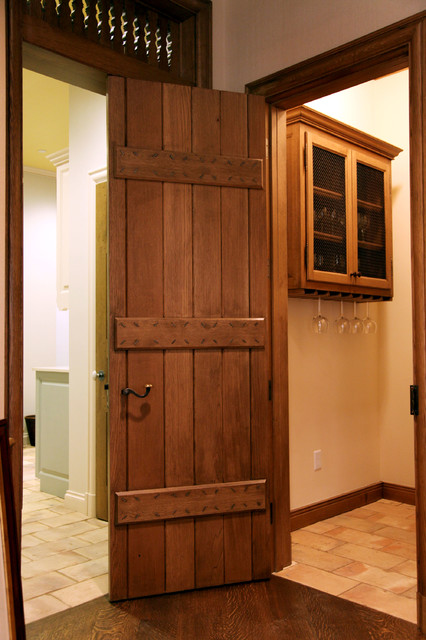 Interior decorating before and after photos - French Plank Door