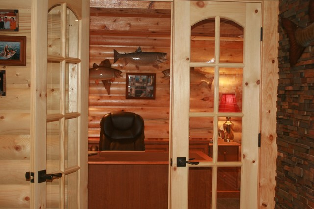 Botw fishing themed man cave in waukesha for Fishing decor for man cave
