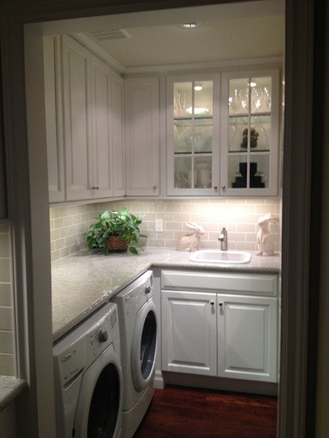 transitional kitchen ,butlers pantry, laundry