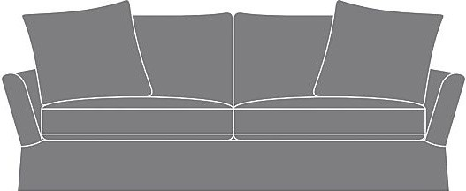 Slipcover Only for Portico Sofa modern-sofas