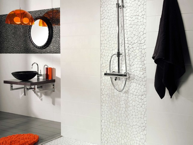 modern bathroom tile by B•D•G Design Group