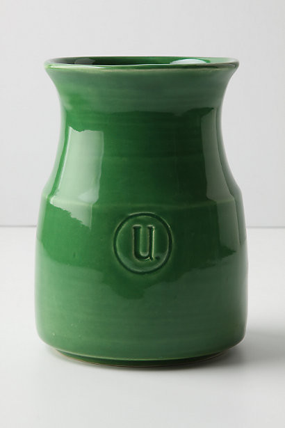 Appellation Utensil Jar, Green modern kitchen products