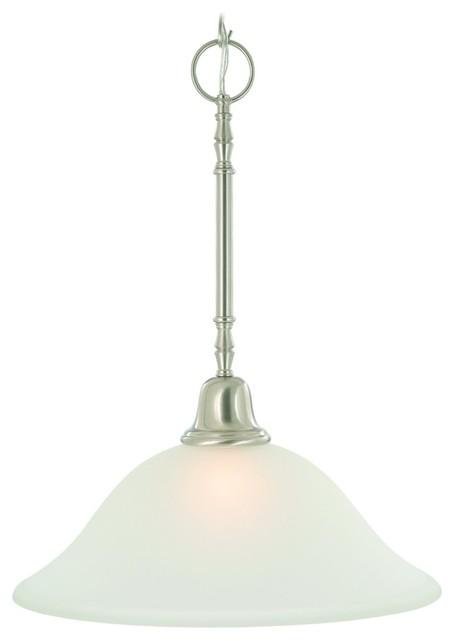 One Light 15 Inch Pendant Fixture Oil Rubbed Bronze Modern Bathroom Li