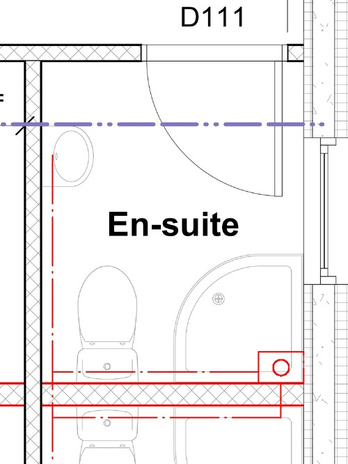 help with small en suite bathroom layout