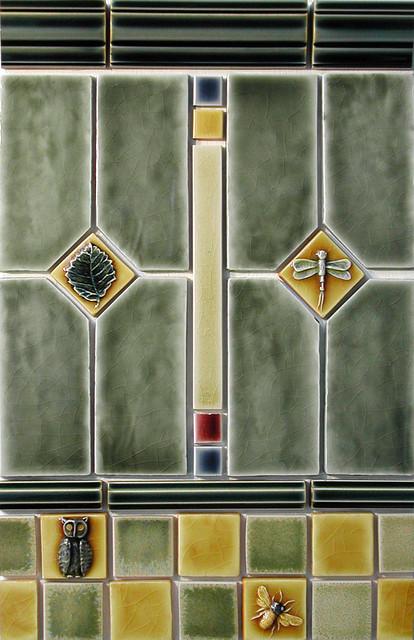 Craftsman Style Bathroom Tile : Craftsman style tile portland by pratt and larson ceramics