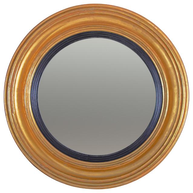 Regency Convex Mirror traditional-mirrors