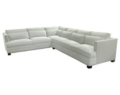 CALLISTO - SIGNATURE TAILORED LINES traditional sectional sofas