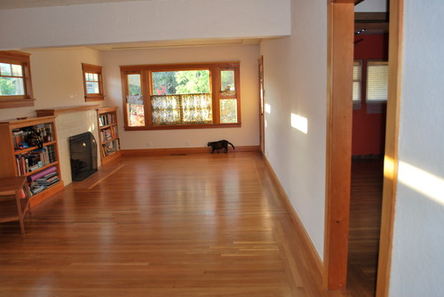 Help for my small, combined living/dining room in craftsman bungalow