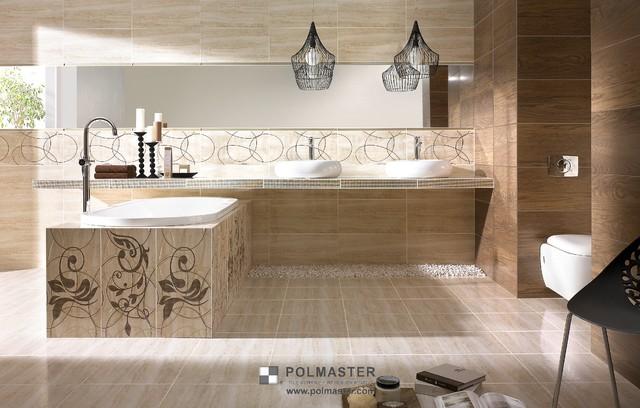 AMICHE TILE COLLECTION contemporary-bathroom