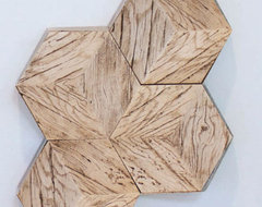 Driftwood Hive Tile modern-accessories-and-decor