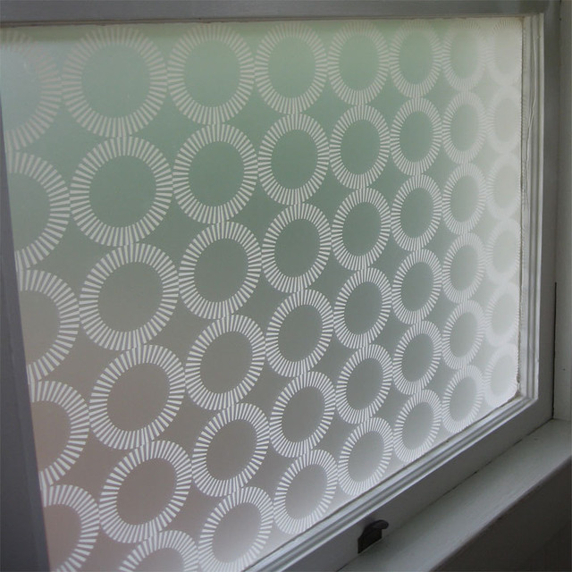Emma Jeffs White Orba Adhesive Film modern window treatments