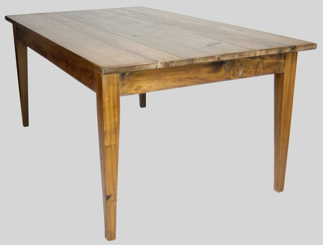 Reclaimed Wood Traditional Farm Table Farmhouse Dining Tables nashville