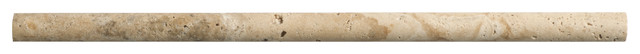 Picasso Travertine Honed Pencil contemporary-wall-and-floor-tile