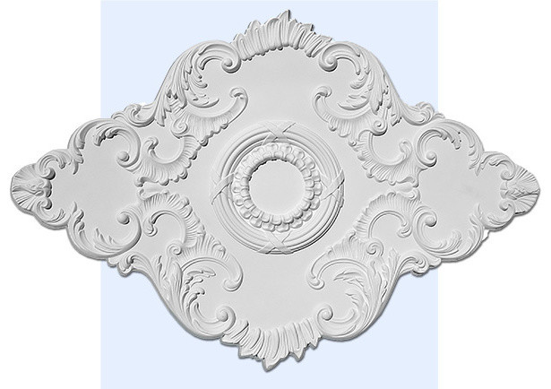 how to install large ceiling medallions   San Francisco Ceiling Medallion (large) - Traditional ...