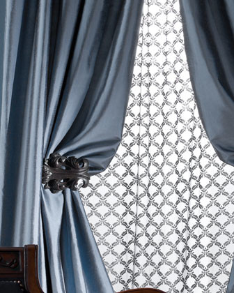 "Amity Home Radiance Silk Curtain, 84""L traditional-curtains"