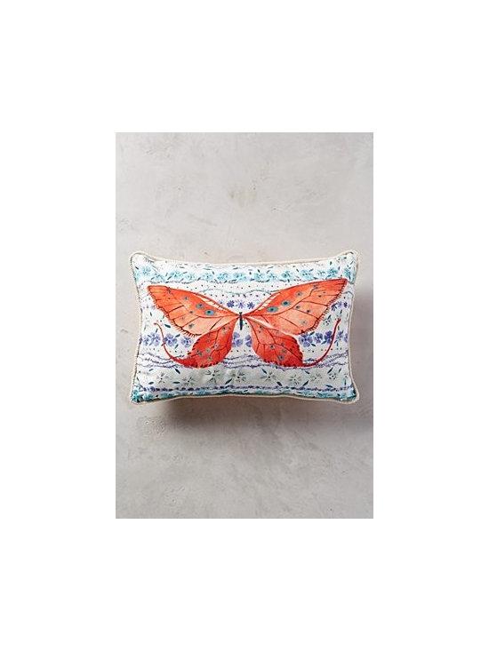 Vikki Chu - Humming Meadow Pillow - Bottom zip. Cotton; polyfill. Machine wash. Long: 16'' x 18''. Small: 14'' x 20''. Square: 18'' square. Imported