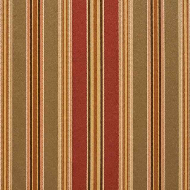 Green Burgundy Gold Various Size Striped Faux Silk Upholstery Fabric ...