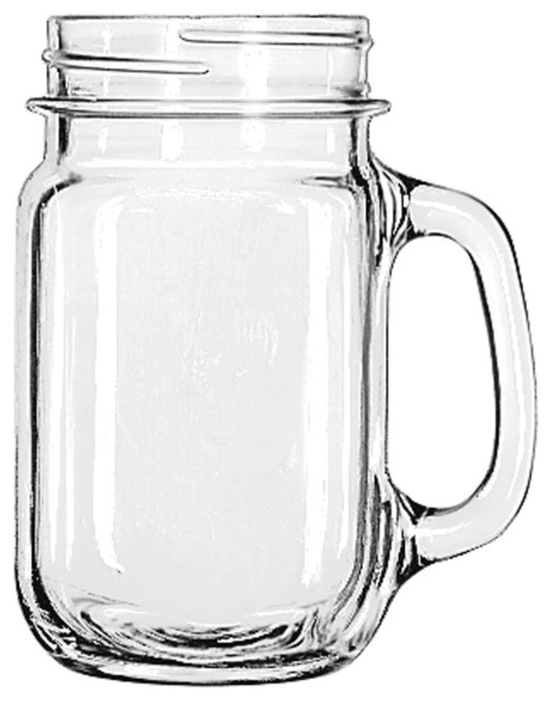 Libbey Drinking Jar With Handle Traditional Dinnerware