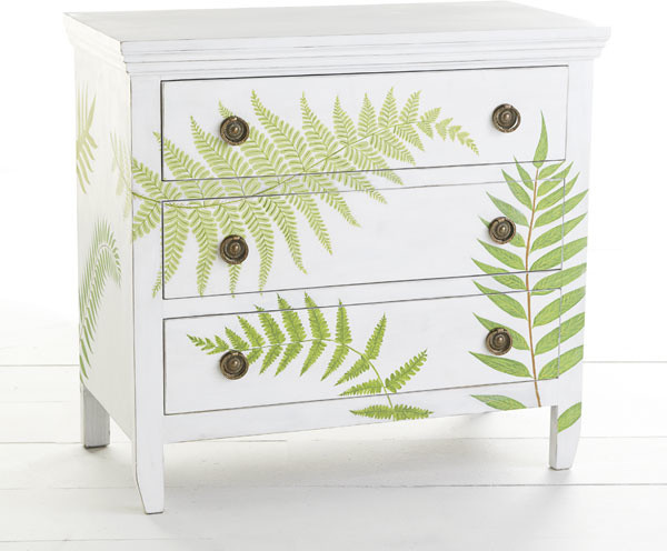 Botanical Chest Traditional Accent Chests And Cabinets