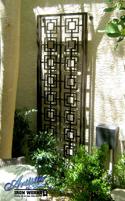 Wrought Iron Trellises Modern Outdoor Products las