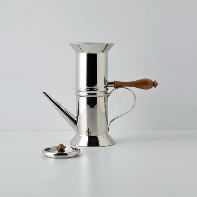 STOVETOP ESPRESSO MAKER - ALESSI NEAPOLITAN COFFEE - 90018 - STARDUST - Modern - Coffee Makers ...