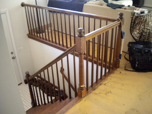 Raised ranch (split level) need help on stairs