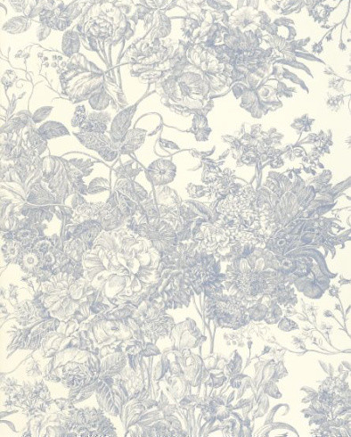 Toile Florissante Fabric traditional-fabric