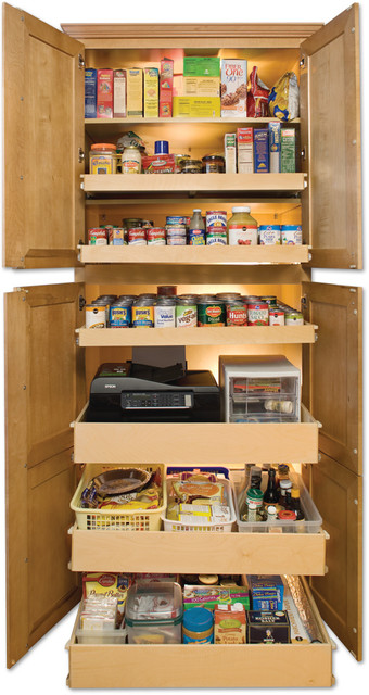Pantry Pull Out Shelves - other metro - by ShelfGenie National