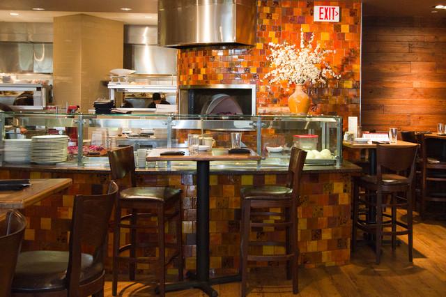 Figlio Restaurant eclectic-kitchen