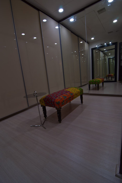 Home interiors of  a house in Secunderabad, INDIA contemporary-closet