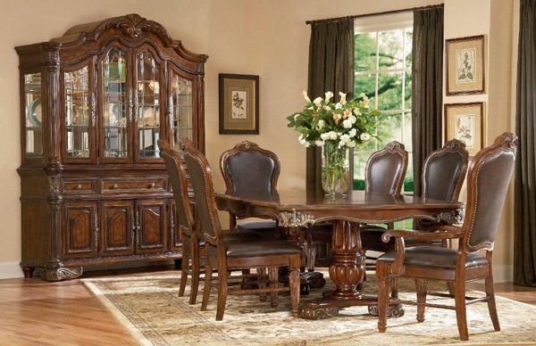 ART Furniture Regal Double Pedestal Dining Room Set