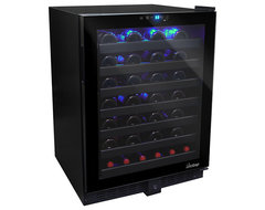 Vinotemp - 54-Bottle Touch Screen Wine Cooler contemporary-beer-and-wine-refrigerators