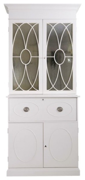 Brittany Secretary Desk by Windsor Smith Home traditional-storage-units-and-cabinets