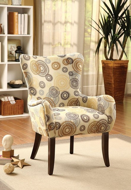 Acme Furniture Gabir Multi Color Accent Chair 59077