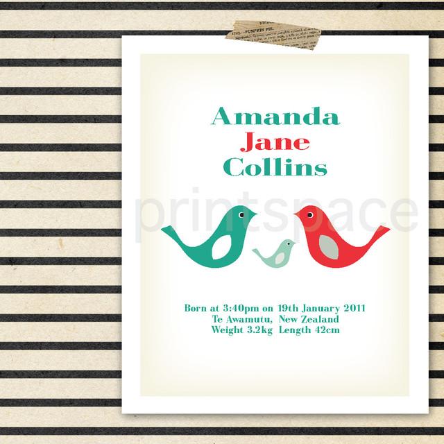 Personalised Prints modern-nursery-decor