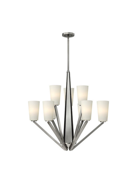 Hinkley Lighting 4138BN 9 Light Chandelier Victory Collection -