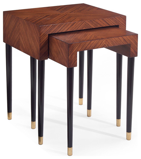 John Richard 28X225X18 Sophie Nest Of 2 Tables contemporary-side-tables-and-end-tables