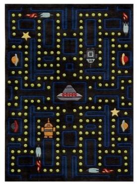 Momeni Lil mo whimsy LMJ14 Area Rug - Arcade black modern-rugs