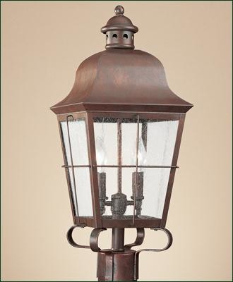 Colonial wooden outdoor lamp posts bing images for Outdoor colonial lighting