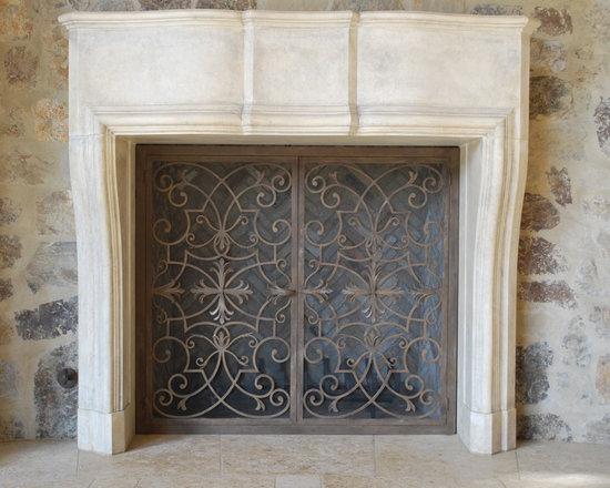 Custom Items - Custom wrought iron door.