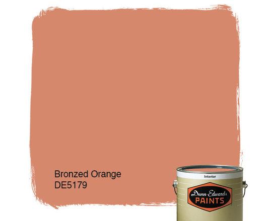 Dunn-Edwards Paints Bronzed Orange DE5179 -