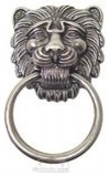 Lion Head Ring Pull eclectic-cabinet-and-drawer-handle-pulls