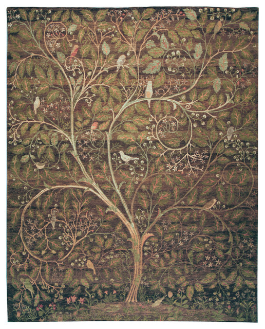 Design #205 Coffeee Bean eclectic-rugs