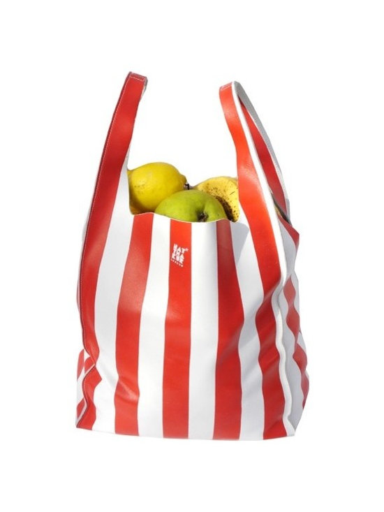 Grocery Bag - Red -