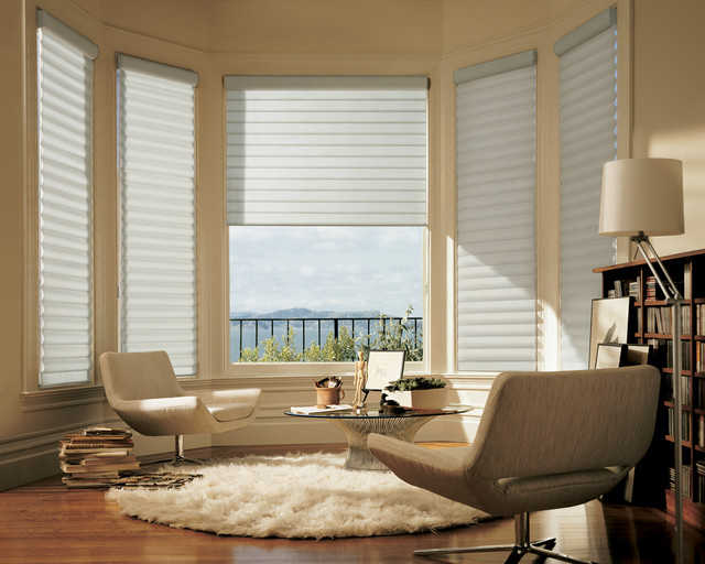 Pirouette With Easyrise Modern Window Blinds Other