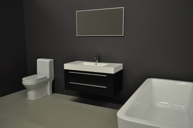 Obsidian Modern Bathroom Vanities And Sink Consoles