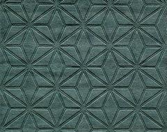 """Gramercy-17 Rug, Blue, 5'-0"""" x 8'-0"""" modern-rugs"""