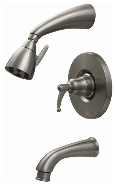 Blairhaus Adams Shower Set Oil Rubbed Bronze Contemporary Tub And Shower